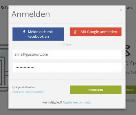 kostenlos bei facebook anmelden