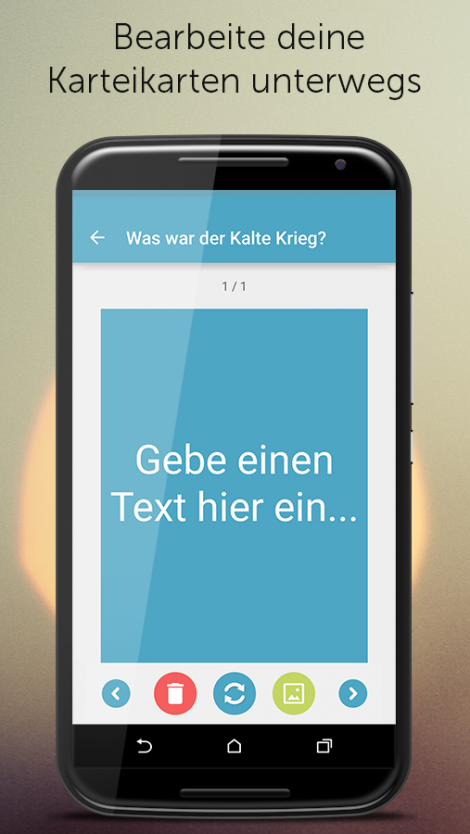 Karteikarten Screenshot 6