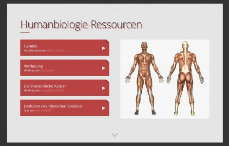 Screenshot Slides DE Humanbiologie 1
